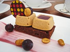 Pastry Chef Zac Young's Peanut Butter Cheesecake with Grape Jelly Glaze