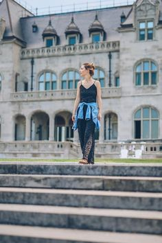OOTD Shop the look here. #LaceMaxiDress #ProseccoandPlaid