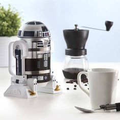 Buy Household Hand Made French Coffee Press Pot Robot Shape 4 Cups for Home,Office Restaurant,Hotel,Cafe,Coffee Time at Wish - Shopping Made Fun French Coffee, French Press Coffee Maker, Coffee Machine, Espresso Machine, Cocina Star Wars, Star Wars Kitchen, R2d2, Ultimate Star Wars, Coffee Maker Reviews