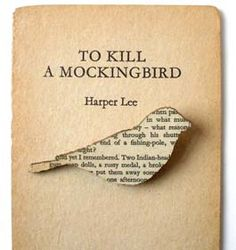 Fab #gift idea for a high school English teacher: To Kill a Mockingbird Brooch from Etsy's House of Ismay. Other literature-inspired objects available as well.