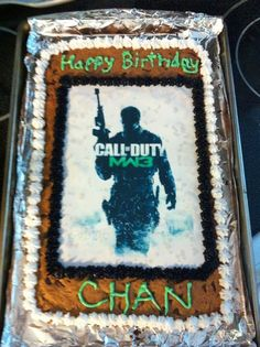 Chan's Choc Chip Bday Cookie...