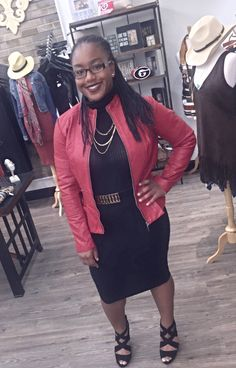 """Faith - Look at @longlivefaith getting ready at Apricot Lane for her """"dress for success"""" for school, you can definitely find your success in fashion at Apricot Lane Boutique come shop with us!!!"""