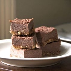 Raw vegan chocolate ice-cream bars: yes, it's possible! Gluten-free, dairy-free, and sugar-free. All natural summer treats!