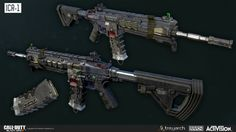 Black Ops 3: ICR-1 Assault Rifle by Ethan Hiley