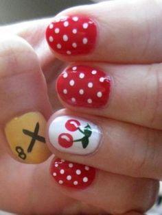 Cherry Nails Yummy