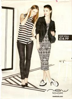 New Look Monochrome & Stripes Advert