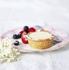 #Elderflower Cream Shortbread Tartlets