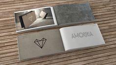 Amouria Jewelry Branding, Graphic Design, Packaging