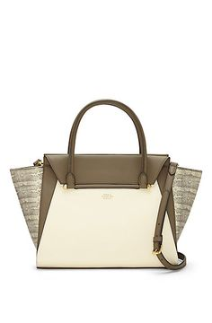 VINCE CAMUTO ADDY- COLOR BLOCKED WINGED SATCHEL - i wish.