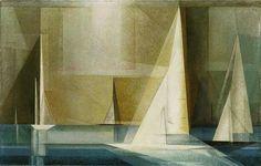 Lyonel Feininger(DEU-USA)   ライオネル・ファイニンガー(独-米)