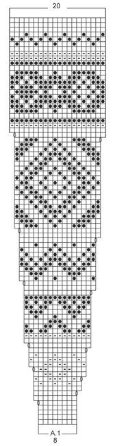 """Nordic Autumn - Von oben nach unten gestrickter DROPS Poncho in """"Nepal"""" mit Norwegermuster. Größe S - XXXL. - Free pattern by DROPS Design"""