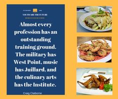 Here at Michigan Culinary School we learn the culinary arts. We invite you to come visit at our premises.  #gastronomie #cuisinelibre #glutenfree #formation #transmission #youtharethefuture