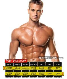 The Program - Healthy Fitness Workout For Full Body Ab Chest Leg