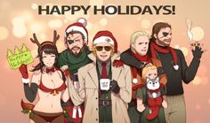 Your Bosselot is showing - by nagi on pixiv Metal Gear Solid Quiet, Metal Gear V, Snake Metal Gear, Metal Gear Solid Series, Video Games Funny, Funny Games, Kazuhira Miller, Mgs V, Gear Art
