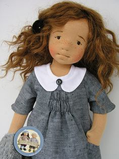 Helena - natural fiber art doll by Lalinda | Agnieszka Nowak | Flickr
