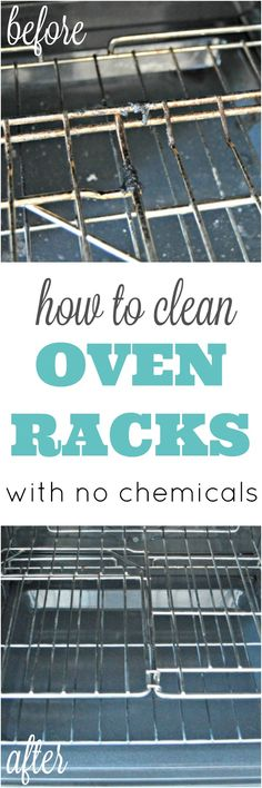 I've gotten a ton of requests lately for a tutorial on How To Clean Oven Racks. I guess with the holiday season and tons of baking, roasting turkeys and hams, t