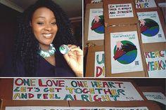 I am Eunice. I am Zimbabwean. I am a Refugee. I am a migrant. – One Day Without Us