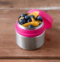 A perfect-sized, healthy way to pack snacks to-go, LunchBots Rounds are a set of two 8 oz. stainless steel containers with easy-to-open twist-off tops. BPA-free and completely leak proof, they're great for yogurt, applesauce, pasta salads, and more. Use them to round out a healthy meal with your favorite side or grab a quick bite on-the-go!