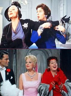 "Auntie Mame Rosiland Russell is the BEST and ONLY ""Mame"" as far as I'm concerned."