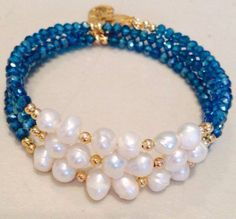 Beaded Bracelet Design Ideas advice and guidance on jewelry that you need to read beaded braceletbeaded Pulsera Con Perla Cultivada Y Cristal Dona Jewelry Braceletsbeadingbracelet Designsbraceletblue