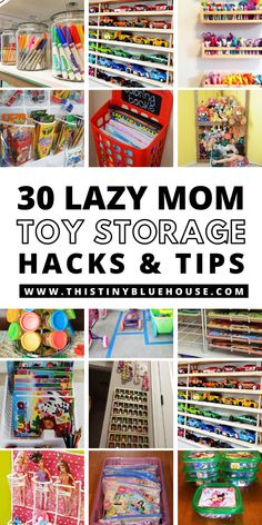 Living in toy chaos? Here are 30 beyond genius and insanely clever super cheap and crazy easy ways to organize kids toys for good. These lazy mom toy organization hacks are a lifesaver! Organizing Hacks, Home Organization Hacks, Cleaning Hacks, Ikea Raskog, Routine Chart, Tips And Tricks, Diy Household Tips, Diy Cleaning Products, Toy Storage Solutions