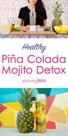 Try this SkinnyFit recipe for a healthy nutrition-packed alternative to other sugar laden Pina Colada and Mojitos. Plus- aside from being healthier it tastes better too! Healthy Detox, Healthy Drinks, Healthy Nutrition, Detox Tips, Detox Recipes, Healthy Recipes, Mojito, Skinny Fit Tea, Coffee Bad For You