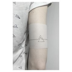 another concept up for grabs // ZAREZERWOWANE  #design #minimalism #minimalist #geometrictattoo #triangletattoo #black #noir #poznan #jakubnowicztattoo