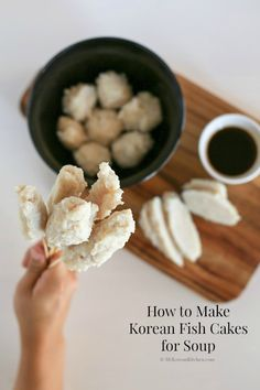 How To Make Korean Fish Cakes Eomuk Odeng For Soup From