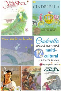 12 Multi-cultural Cinderella Children's Books