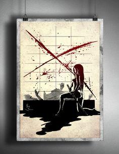 Samurai Art, Samurai Warrior, Samurai Wallpaper, Heavy Metal Art, Women Poster, Japanese Sword, Warrior Girl, Halloween Stickers, Woman Art
