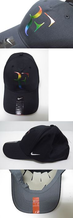 Hats and Headwear 159160: New Nike Rf Roger Federer Hat Cap 835536-010 BUY IT NOW ONLY: $35.0