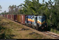 RailPictures.Net Photo: SGLR 573 Seminole Gulf EMD GP9 at Punta Gorda, Florida by Rob Schreiner