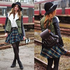 #fashion #women #trend #inspiration #style #clothing #checks #tartan #plaid #print