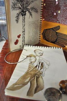 art journal by eileen