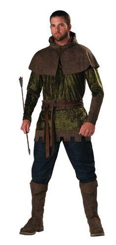 Medieval Clothing Men   Mens Costume Medieval Huntsman Renaissance