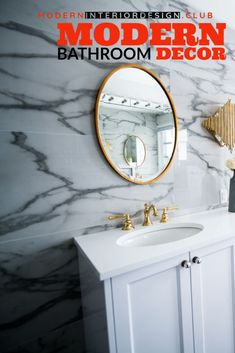 ?Modern?Master Bathroom in Baltimore?Modern Design and Outdoor ... >>> Be sure to check out this helpful article. Modern Master Bathroom, Modern Bathroom Decor, New Interior Design, Baltimore, Decorating Your Home, Design Projects, Modern Design, Mirror, Check