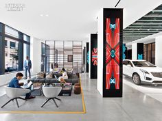 Gensler Brings Downtown Cool to Cadillac With a Sparkling New Experience Center