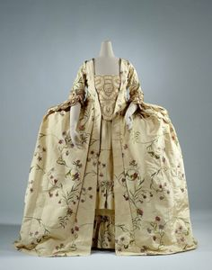 Robe a la francaise ca. 1760