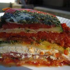 Vegan Raw Lasagna