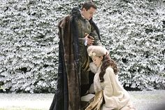 The Tudors - Publicity still of Jonathan Rhys Meyers & Natalie Dormer. The image measures 4296 * 2860 pixels and was added on 5 July Jonathan Rhys Meyers, Tudor Costumes, Movie Costumes, Halloween Costumes, Enrique Viii, Theater, Renaissance, The Other Boleyn Girl, Medieval