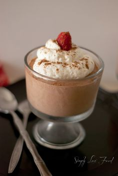 Super creamy chocolate mousse (dairy free) | Simply Love Food