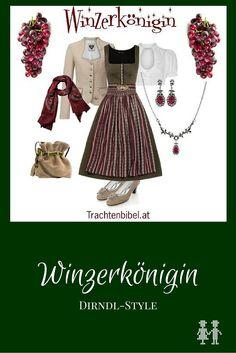 Dirndl-Style Winzerkönigin zum Nachshoppen