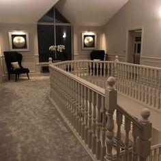 Home sweet home 💗 Dream Home Design, Home Design Plans, Home Interior Design, House Design, Home Interior Catalog, Hallway Designs, Hallway Ideas, Flur Design, Home Bedroom