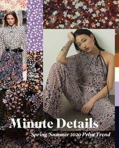 26ef6d6ab52673 New Spring/Summer 2020 Print Trend 'Minute Details' is now live on our