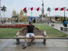 Plaza de Armas in Trujillo. Nice place