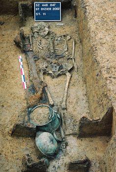 Le mobilier des sépultures aristocratiques franques de Saint-Dizier (Haute-Marne) (INRAP)