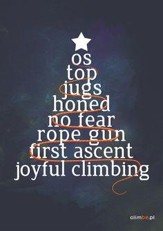 climbe christmas tree