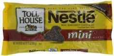 $24 Nestle Toll House Mini Morsels, 12-Ounce (Pack of 6) by Nestle, http://www.amazon.com/dp/B0053B6YVK/ref=cm_sw_r_pi_dp_kZ.Prb1CNBYRQ