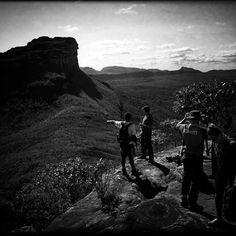 Topo do Morro do Castelo #valedopati #chapadadiamantina