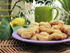 Cookies mandorle e limone